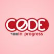 code in progress logo design