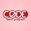 code in progress logo design
